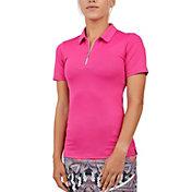 Sofibella Women's Short Sleeve Golf Polo
