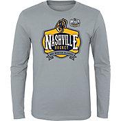 NHL Youth 2020 Winter Classic Nashville Predators Locker Room Grey Long Sleeve Shirt