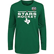 NHL Youth 2020 Winter Classic Dallas Stars Locker Room Green Long Sleeve Shirt