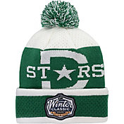 NHL Youth 2020 Winter Classic Dallas Stars Player Pom Knit Beanie