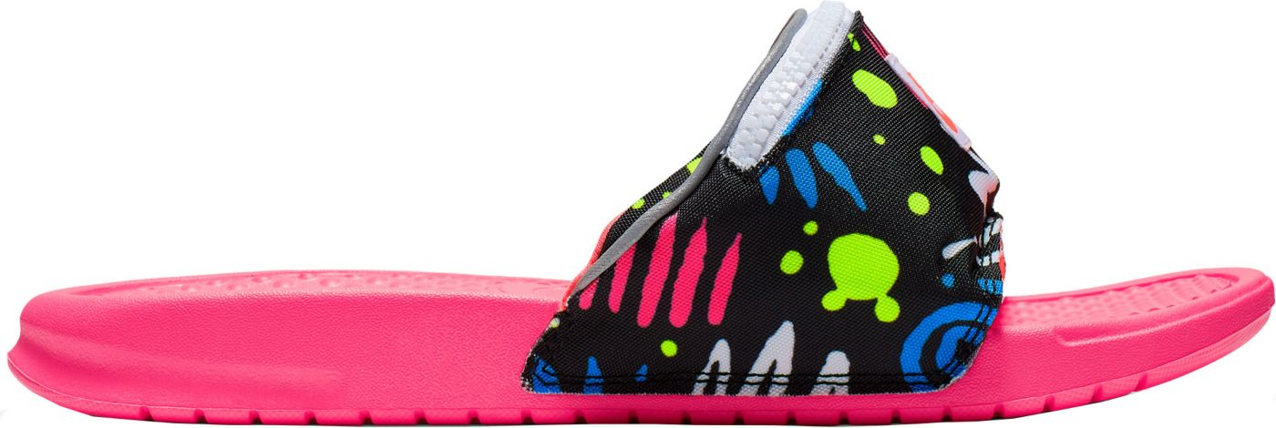 Nike Benassi JDI Fanny Pack 80's Slides