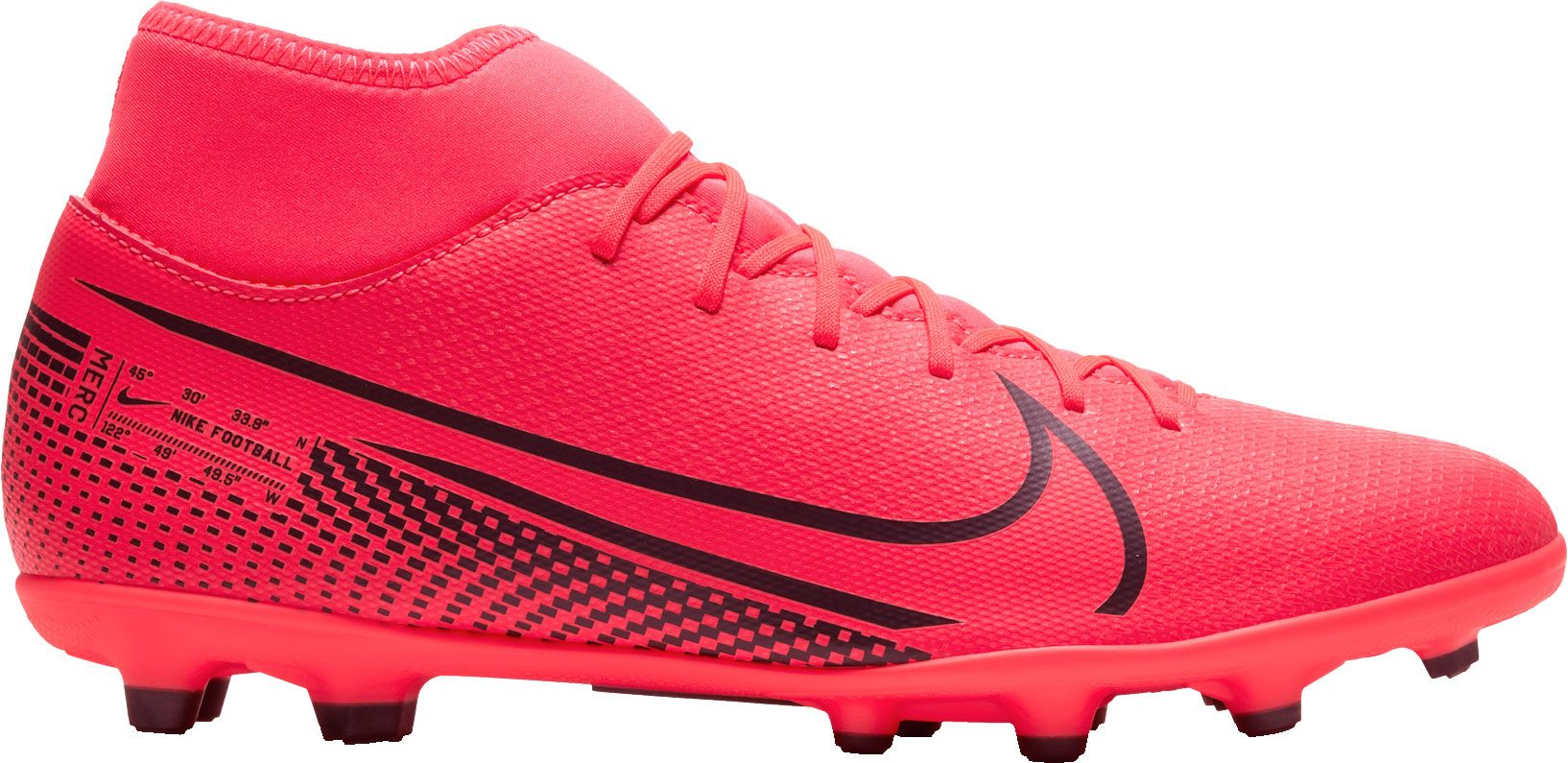 Nike Mercurial Superfly 7 Club FG Soccer Cleats, Men's, Red