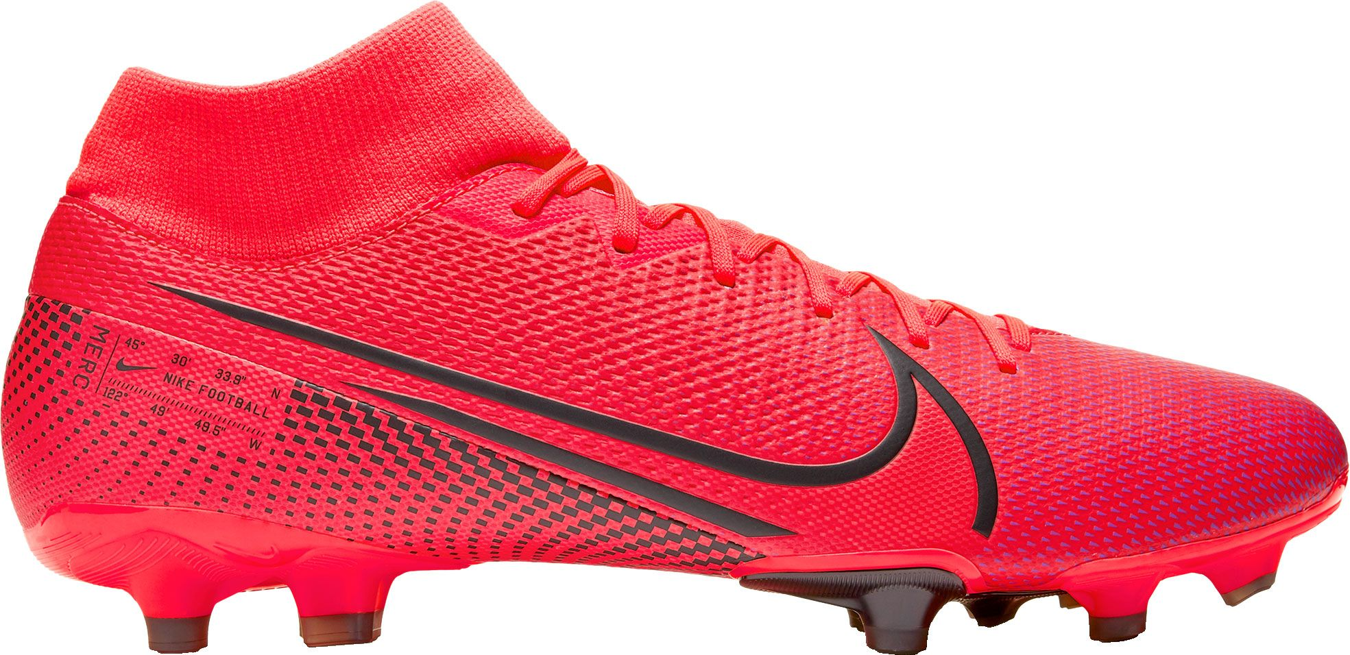 Nike Mercurial Superfly 7 Academy FG Soccer Cleats, Men's, Red