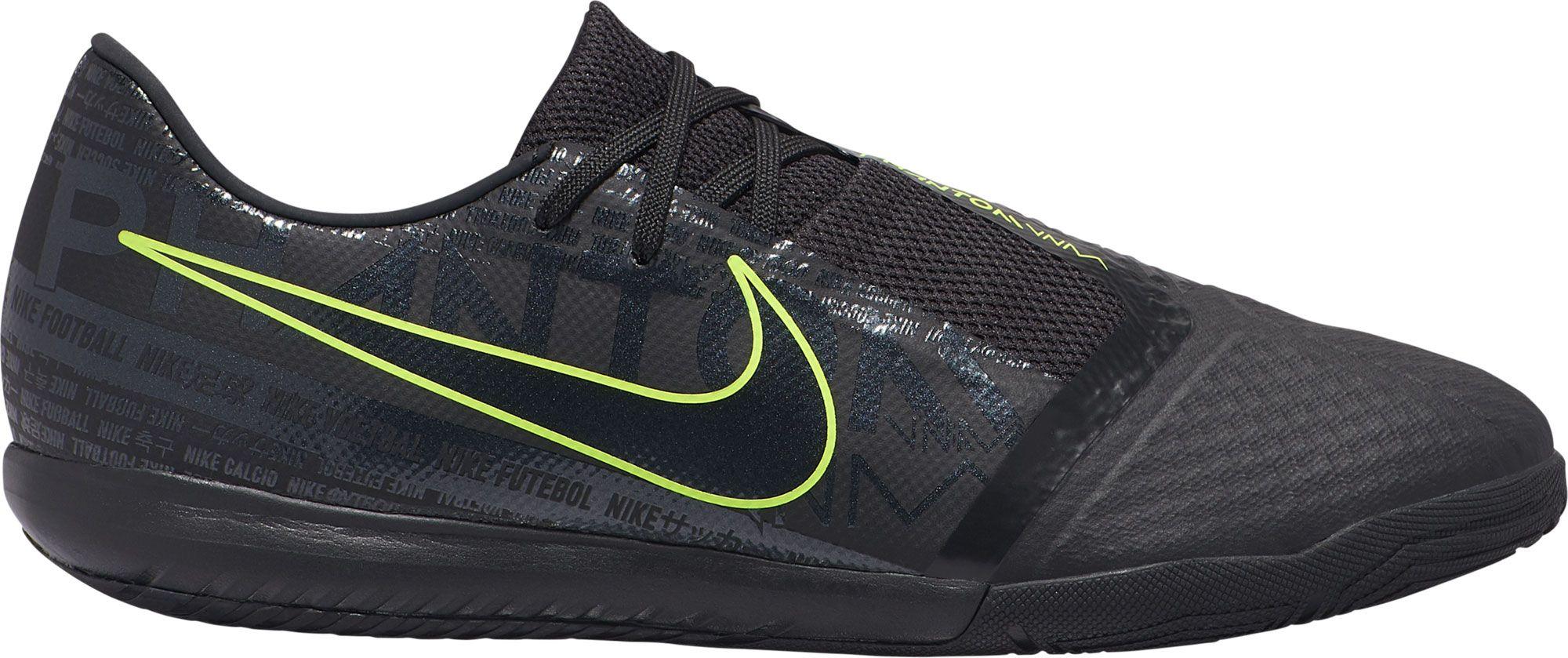 Nike Phantom Venom Academy Indoor Soccer Shoes, Men's, Black