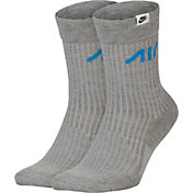 Nike Men's Air Sneaker Crew Socks - 2 Pack