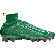 Nike Men's Vapor Untouchable 3 Pro Football Cleats in Green/White