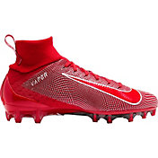 Nike Men's Vapor Untouchable 3 Pro Football Cleats in Red/White