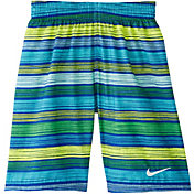 Nike Boys' 6:1 Stripe Breaker Volley Swim Trunks
