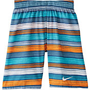 Nike Boys' 6:1 Stripe Breaker Volley Swim Trunks