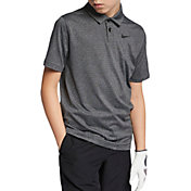 Nike Boys' Dry Control Stripe Golf Polo