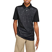 Nike Boys' Triangle Print Dri-FIT Golf Polo