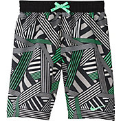 Nike Boys' 6:1 Dazzle Breaker Volley Swim Trunks