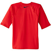 Nike Boys' Doddle Swoosh Long Sleeve Rash Guard