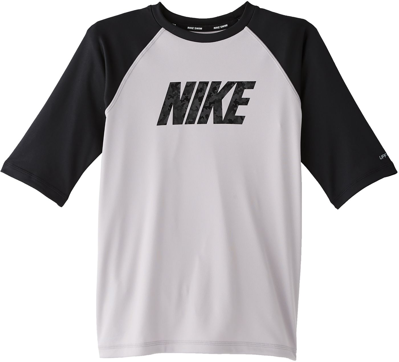 Nike Boys' Logo Half Sleeve Rash Guard