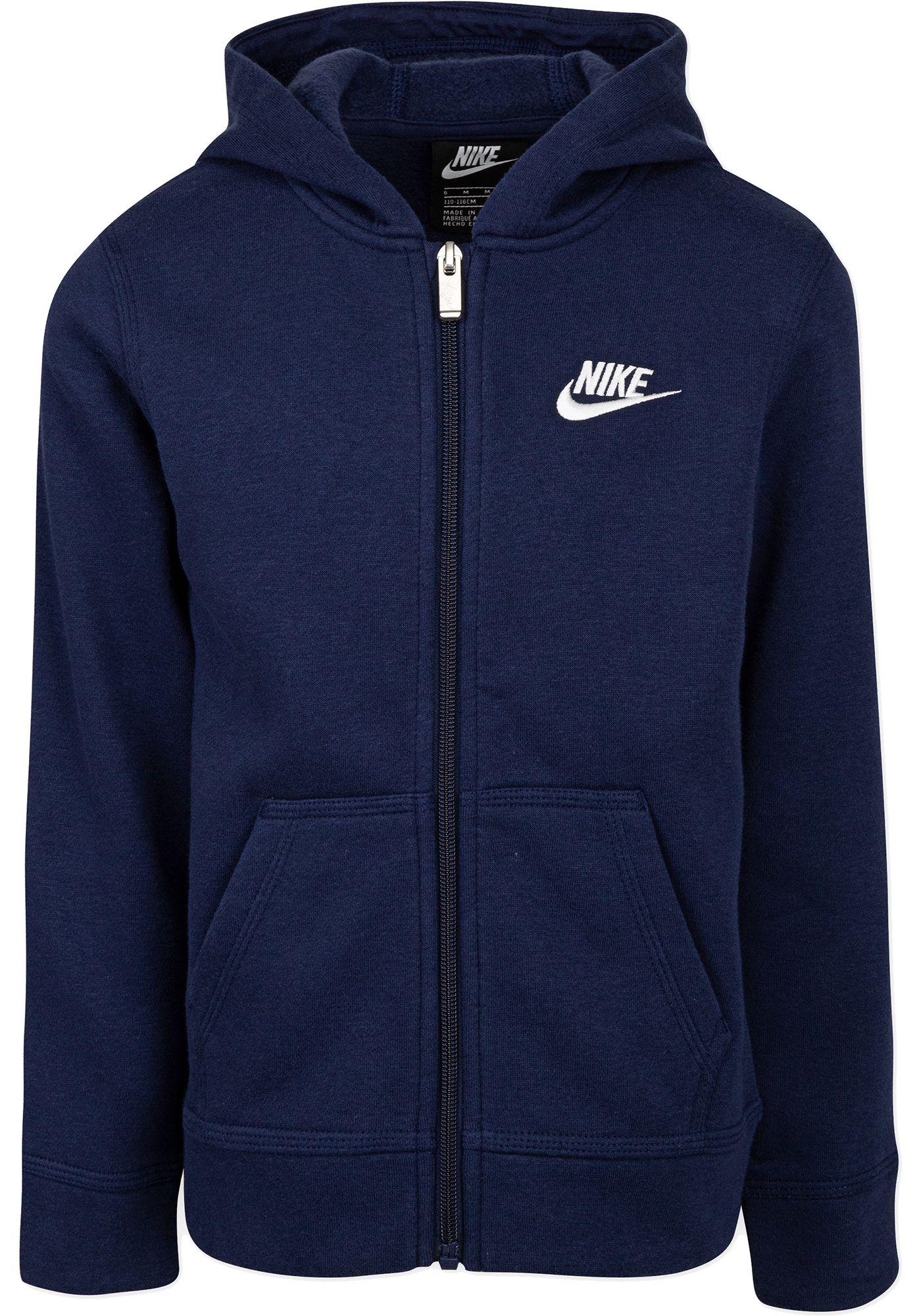 Nike Little Boys' Fleece Full Zip Hoodie