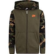 Nike Little Boys' Fleece Camo Full Zip Hoodie