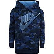 Nike Little Boys' Fleece Camo Hoodie
