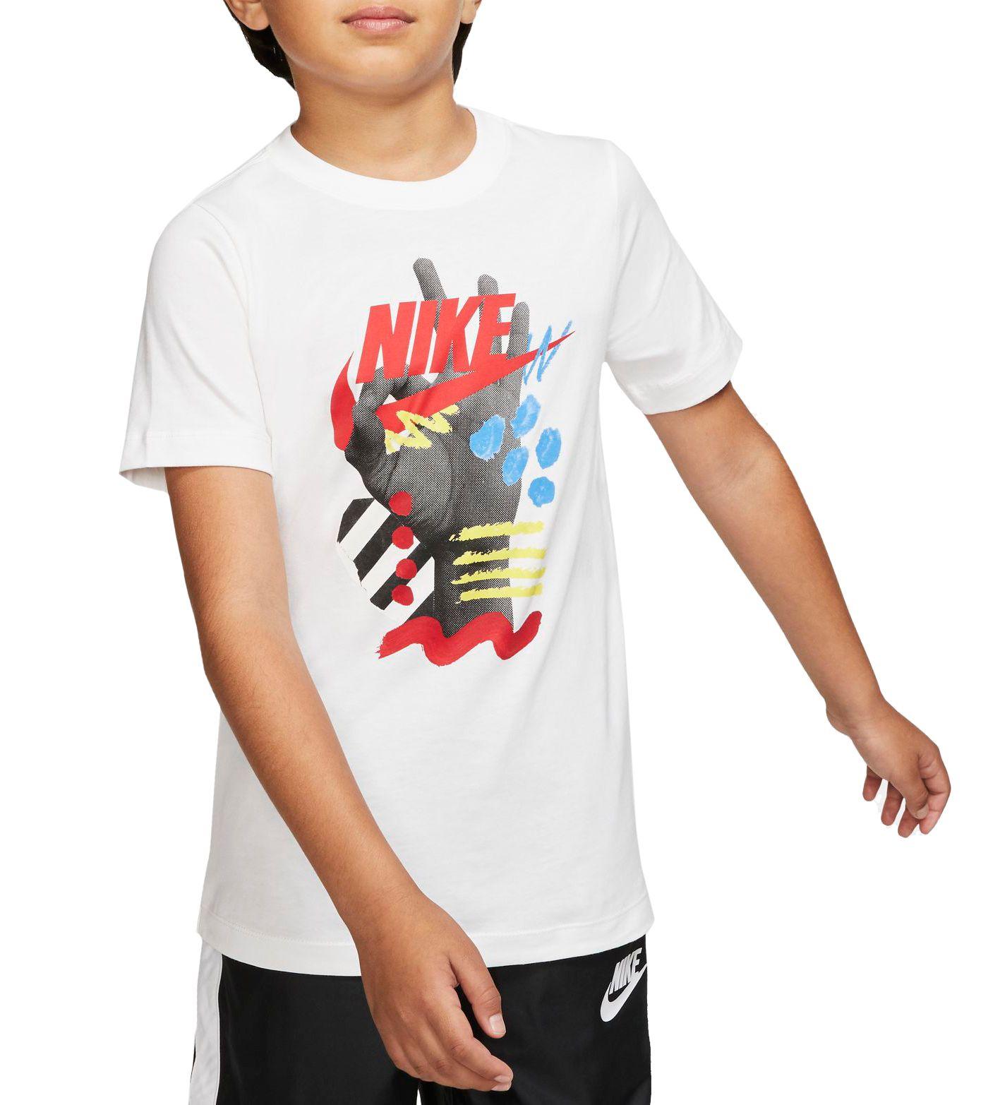 Nike Boys' 3 Finger Futura T-Shirt