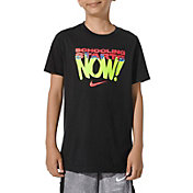 Nike Boys' Sportswear Schooling Starts Now Graphic T-Shirt