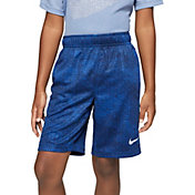 Nike Boys' Dri-FIT All Over Print Fly Training Shorts