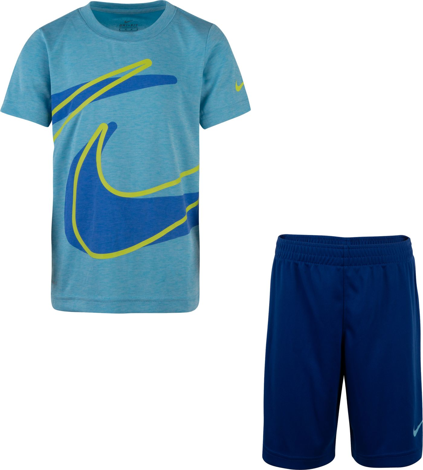 Nike Little Boys' Dri-FIT T-Shirt and Short Set