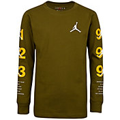Jordan Boys' Glory Years Graphic Long Sleeve Shirt