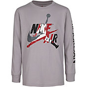 Nike Boys' Jumpman Classics Graphic Long Sleeve Shirt