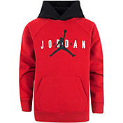Jordan Boys' Sueded Fleece Colorblock Hoodie