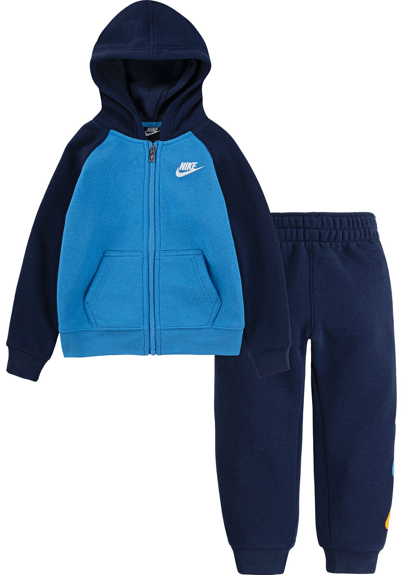 Nike Toddler Boys' Fleece Full Zip Hoodie and Jogger Set