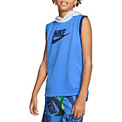 Nike Boys' Mesh Sleeveless Hoodie