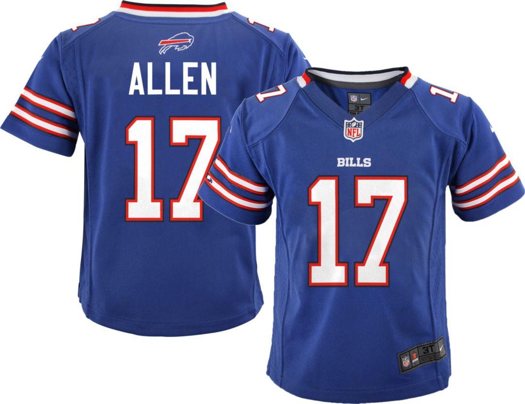 on sale 14025 c4649 Nike Boys' Home Game Jersey Buffalo Bills Josh Allen #17