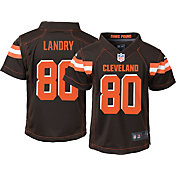 Nike Boys' Home Game Jersey Cleveland Browns Jarvis Landry #80