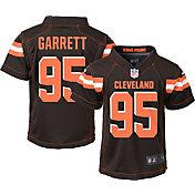 Nike Boys' Home Game Jersey Cleveland Browns Myles Garrett #95
