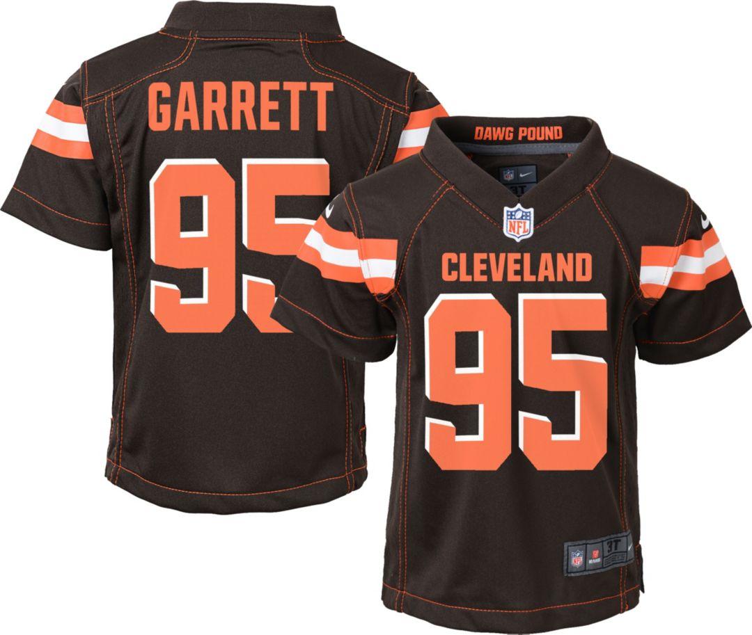 e670c2f9 Nike Boys' Home Game Jersey Cleveland Browns Myles Garrett #95