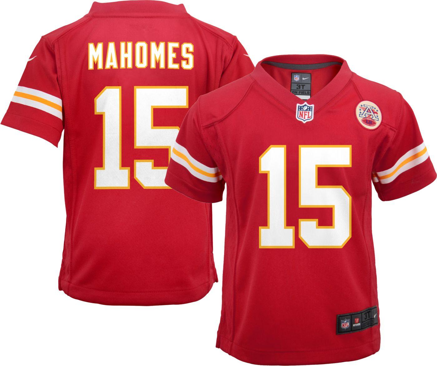 Nike Boys' Home Game Jersey Kansas City Chiefs Patrick Mahomes #15