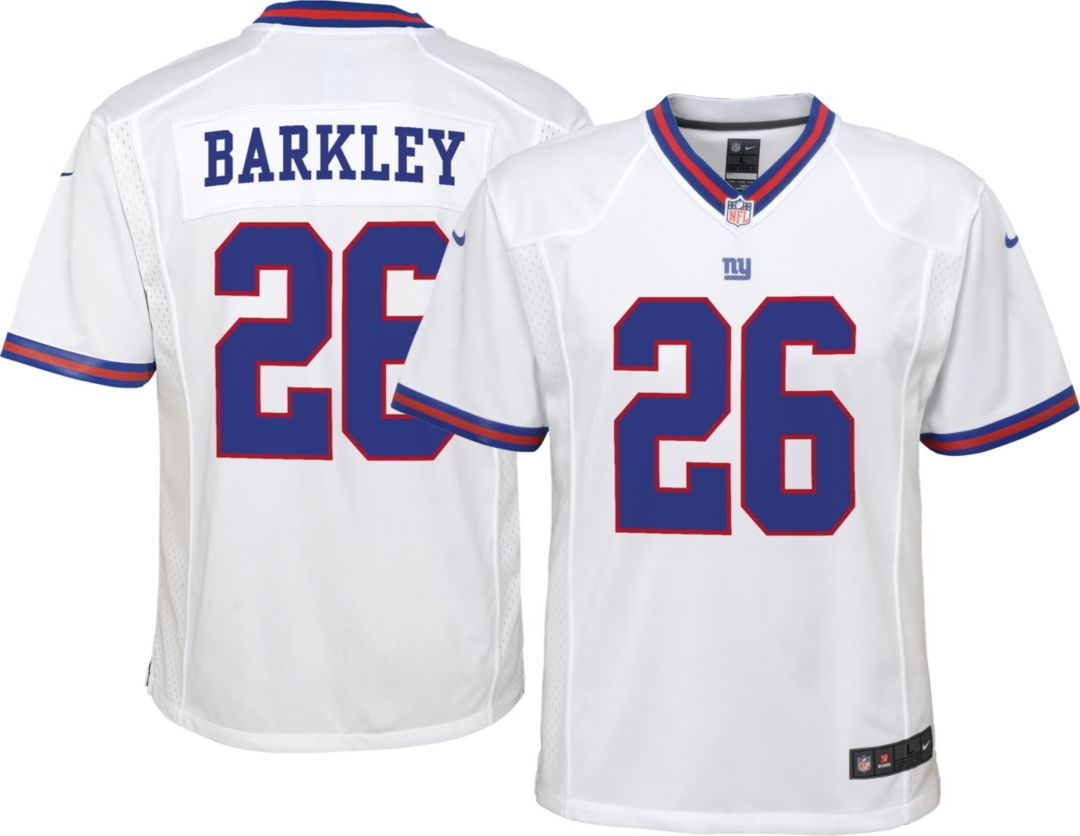 new concept c8d73 e25eb Nike Boys' Color Rush Game Jersey New York Giants Saquon Barkley #26