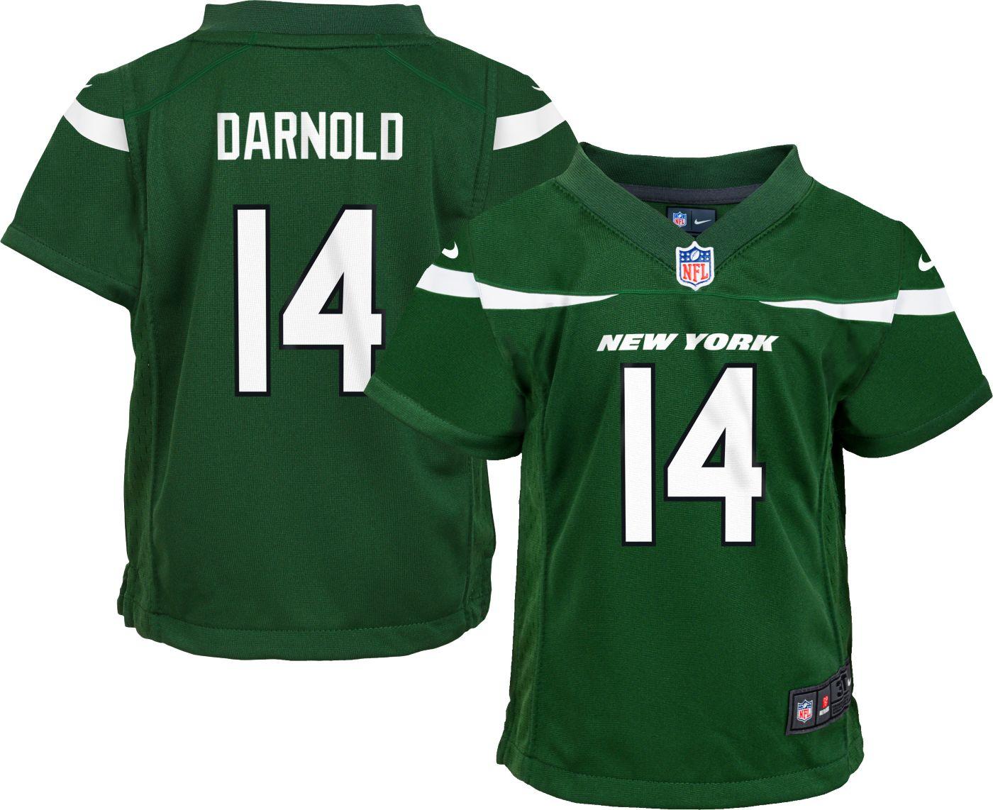 Nike Boys' Home Game Jersey New York Jets Sam Darnold #14