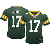 Nike Boys' Home Game Jersey Green Bay Packers Davante Adams #17