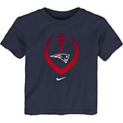 Nike Boys' New England Patriots Icon Navy T-Shirt