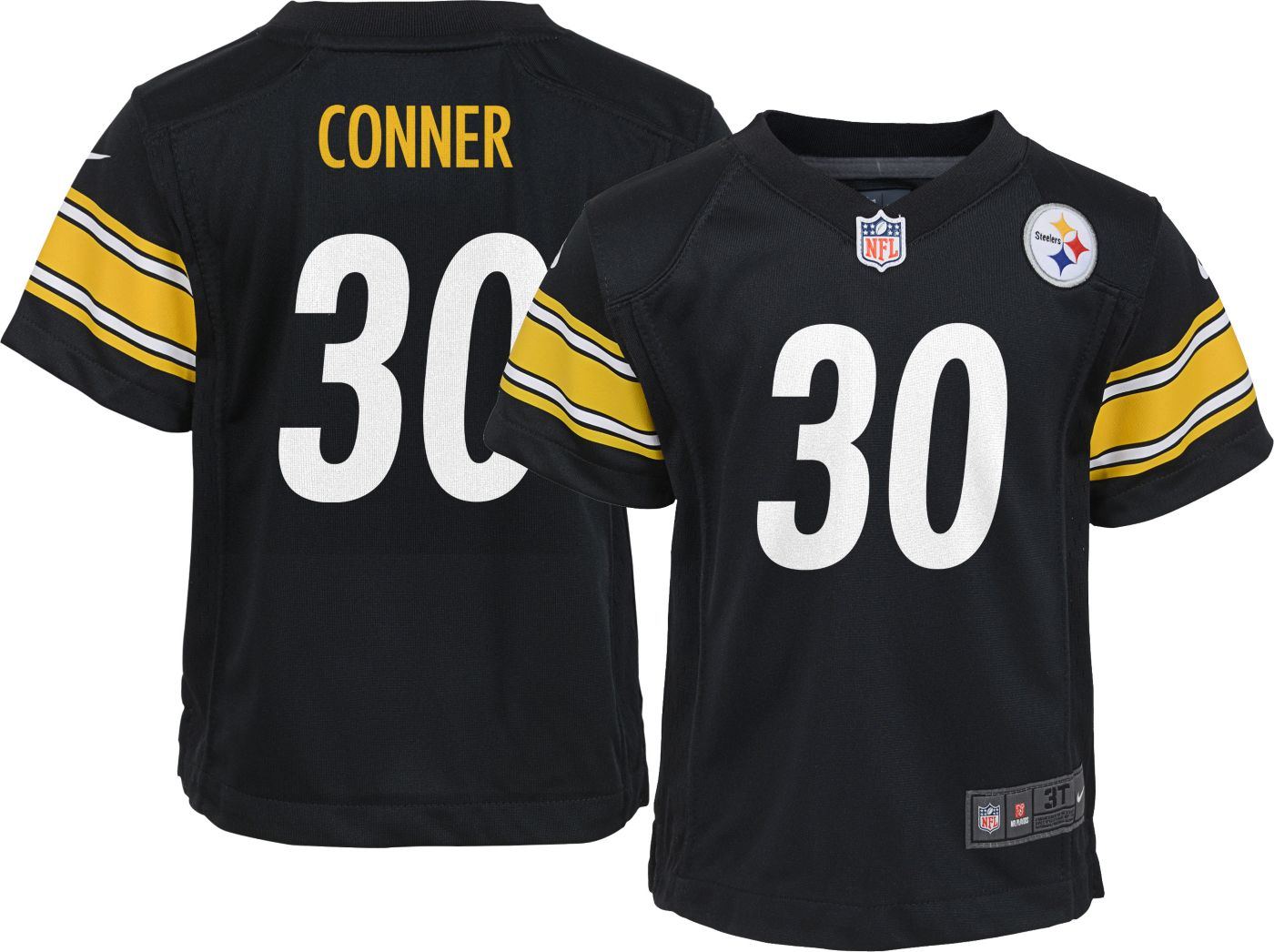 Nike Boys' Home Game Jersey Pittsburgh Steelers James Conner #30