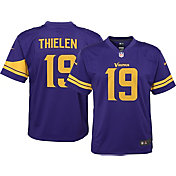 Nike Boys' Color Rush Game Jersey Minnesota Vikings Adam Thielen #19