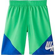 Nike Boys' Logo Jackknife Volley Swim Trunks