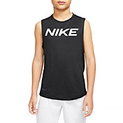Nike Boys' Pro Sleeveless Shirt