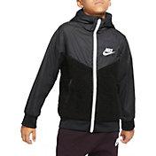 Nike Boys' Sportswear Sherpa Windrunner Jacket