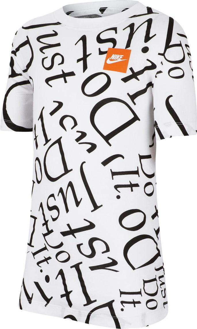 Nike Boys' Sportswear Just Do It Printed T Shirt