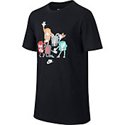 Nike Boys' Sportswear Shoebox Figure T-Shirt