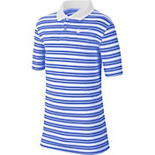 Nike Boys' Multi-Stripe Dry Victory Golf Polo