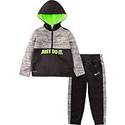 Nike Little Boys' Therma Fleece Half Zip Hoodie and Jogger Set