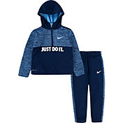 Nike Little Boys' Therma Fleece Half Zip Hoodie and Jogger Set