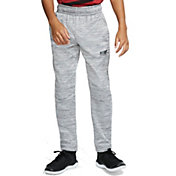 Nike Boys' Dri-FIT Therma Open Hem Pants in Gunsmoke/Htr